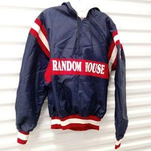 Vintage Random House DeLong Windbreaker Jacket L
